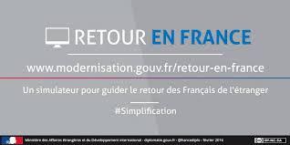 Retraite britannique et retour en France